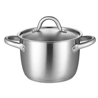 TiLUCK Stainless Steel Pot Stew Pot Thick Stew Pot Double Layer Double Bottom Instant Noodles Pot Stew Pot Electromagnetic Furnace Fuel Gas