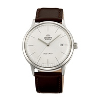Orient Bambino รุ่น 3 ญี่ปุ่นอัตโนมัติ Gent หนังนาฬิกาหรูหรา SAC0000EW0