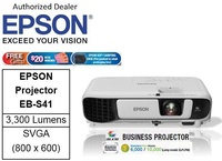 Epson EB-S41 Business Projector bundle with CNY gift 32GB flash drive  ** Free $20 NTUC Voucher + Epson Soft Carrying Case (Pre-Packed In Retail Packaging Box) Till 2nd Mar 2019 ** EBS41 EB S41