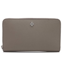 Tory Burch Robinson Zip Continental Wallet (French Gray) # 11169071036