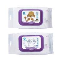 【臭味滾】寵物專用抗菌濕紙巾/一包50抽/貓用/狗用