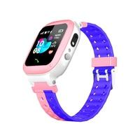 New 6th Generation Q18 Kids Smart Watch IP67 Waterproof 2G SIM Card GPS Tracker Camera SOS Call Location Reminder Anti-Lost Baby Smartwatch PK Q12 Q50 Q528