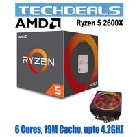 AMD RYZEN 5 2600X Wraith Spire Cooler