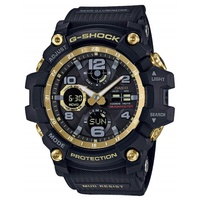 Casio G-Shock GWG-100GB-1AJF MUDMASTER Black  Gold Solar Mud Resistant Watch
