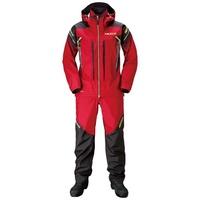 【SHIMANO】NEXUS 防水磯釣雨衣套裝 紅 RA-124S