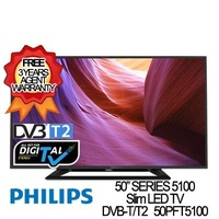 "Philips 55"" Full Digital Slim LED TV 55PFT5100 * 3 YEARS SG WARRANTY, READY STOCKS"