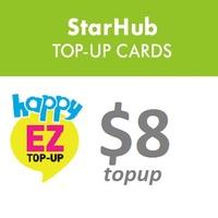 Starhub $8 Top-up Prepaid