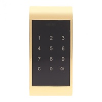 Electronic Door Lock Drawer Combination Digital Lock Touch Keypad Password Key Access Cabinet