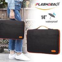 "iFlashDeal กระเป๋าใส่โน๊ตบุ๊ค 14"" เคสโน๊ตบุ๊ค เคสแมค ซองใส่โน๊ตบุ๊ค ซองแล็ปท็อป ซองใส่ไอแพด ซองใส่แท็บ iPad Tab Laptop Bags Cases & Sleeves"