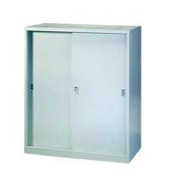 二手三層拉門鐵櫃(3尺)106.5x90x45