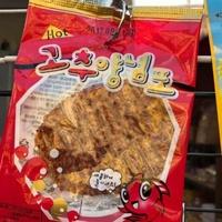 韓國辣味魷魚片