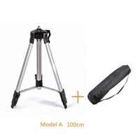 1M Tripod Level Stand ,Foldable Ground Laser Level Tripod Stand Lightweight with Bag