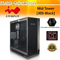 In-Win 305 Mid-Tower Gaming Chassis ATX Micro-ATX Mini-ITX Tempered Glass SECC