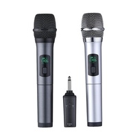 K380A 6.5mm 10 Channels UHF Digital Wireless Microphone System