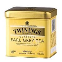 伯爵茶《TWINING唐寧》EARL GREY TEA 皇室御用伯爵茶 100g/罐