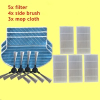 Replacement Kit for Proscenic 790T Hepa Filter x5+ Side Brush x4+ Mop Cloth x3 Robot Vacuum Cleaner