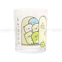 San-X 角落生物 角落精靈 杯子 水杯 飲料杯 玻璃杯 茶杯 餐具 正版日本進口 JustGirl