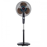 EuropAce 16 Inch Stand Fan with Remote ESF616P