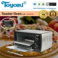 TOYOMI Toaster Oven Stainless Steel Body 9.0L - TO 977SS