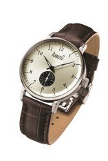 Arbutus Men's Leather Strap Watch AR804SIF