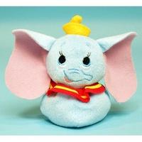 大賀屋 日貨 小飛象 娃娃 玩偶 擺飾 裝飾 公仔 沙包 禮品 DISNEY 迪士尼 正版 授權 J00014765