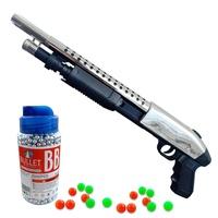 ปืนของเล่น ปืนอัดลม ปืนลูกซอง ปืนสไนเปอร์ ปืนอัดลมเด็ก ปืนเด็กเล่น ปืนบีบีกัน ปืนอัดลมยาว กระสุนปืนอัดลม ปืนไรเฟิล ปืนเนิฟ ปืนเนิร์ฟ ลูกบีบีกัน สโคปปืน สโคป กล้องติดปืน AWP Sniperระบบสปริง ชักยิงง่าย พลาสติกสีดำ งานสวยละเอียด พร้อมกระสุน 100