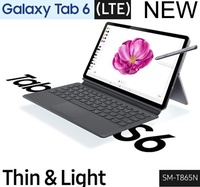 Samsung SM-T865NZANKOO Galaxy Tab S6 LTE 256GB Mountain Gray Android 9.0 (pie) Super AM-OLED