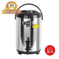 奶茶桶-10升保溫桶冰桶商用奶茶保溫桶10l奶茶店冰桶開水保溫桶不銹鋼12L【蝦鬧鬧-專場】