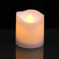 boobc Flickering Flameless Candles LED Tealight Candles-Pack Of 12-Beautiful And Elegant Unscented LED Candles