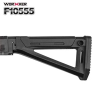 Top Deals Worker Mod Shoulder Stock Replacement Kit For Nerf N-strike Elite Toy Gun