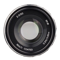 XI Meike MK-E-50mm-f/2.0 Large Aperture Manual Focus Lens APS-C for Sony E Mount