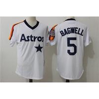 日本專櫃休斯頓太空人號 BAGWELL 白色復古球迷MLB球衣限時搶購