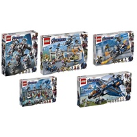 【ToyDreams】LEGO樂高 超級英雄 76123, 76124, 76125, 76126, 76131合購