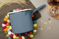 RIESS 琺瑯牛奶鍋 空軍藍