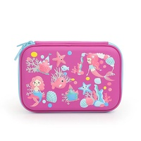 Smiggle Australia Unicorn 3D Cartoon Pencil-Box Multi-functional Pencil Case Large Capacity Children Students Pencil Case