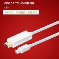 Mini DP 轉 HDMI 1.8M(Adapter06)