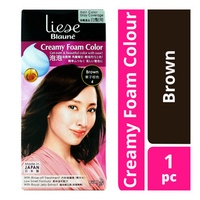 Liese Blaune Creamy Foam Hair Colour - Brown (