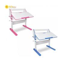 Kikimmy 新升級簡約升降成長型兒童書桌(桌+書架) 藍色/粉色兩色可選 廠商直送 大樹