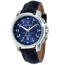 ★MASERATI WATCH★-瑪莎拉蒂手錶-海神深藍款-R8851121003-錶現精品公司-原廠正貨-鏡面保固一年