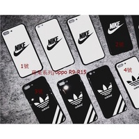 oppo r15/a73/r11s nike x glass case 6s 7plus all inclusive anti fall