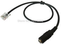 Free Shipping 2.5MM Headset Adapter RJ9/RJ10 To 2.5mm ONLY For Cisco Phone 2.5mm female  to RJ9 for CISCO IP phone