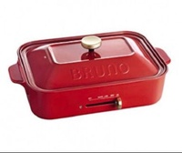 Red Bruno Compact Hot Plate