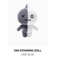 🧚🏻♀️BT21 防彈少年團 站立中型玩偶+鑰匙圈Van