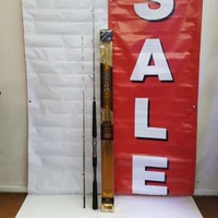 HEARTY RISE Boat Rod= HOLDER LOCK NET-V HR180 2 Top+2 Action 60/130 & 80/130 (2x Total Lgth: 1.8m)