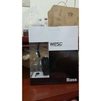 瑞典WeSC 季節款 Banjo系列 耳罩式耳機 【黑色Black 附麥克風】