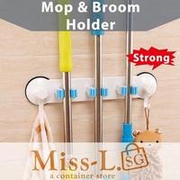 Mop Broom Holder/spin mop holder/spray mop holder/steam/boomjoy/floor