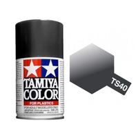 ◆弘德模型◆ 田宮 TS-40 金屬黑 亮光 噴罐 Tamiya TS40 金屬漆 85040