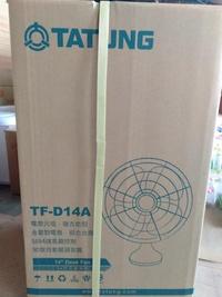 【TATUNG 14吋元祖桌扇TF-D14A】011993桌扇、電風扇、風扇、涼風扇 【八八八】e網購