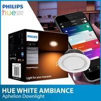 Philips Hue White Ambiance Aphelion Downlight  - Round / Square | 9W | Warm white to cool daylight