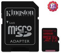 Kingston 128GB 128G microSDXC【100MB/s】寫 80MB/s microSD SD SDXC TF A1 U3 4K V30 手機記憶卡